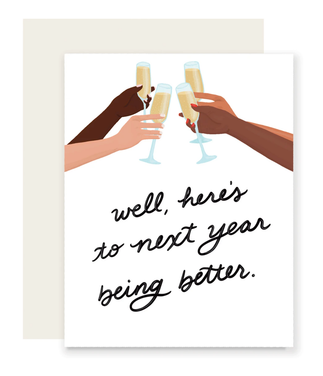 Here's To Next Year Card