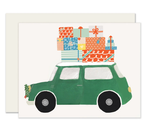 Car of Gifts Card - Set of 6