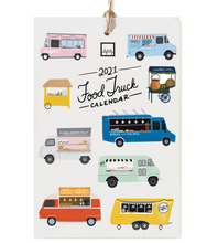 Load image into Gallery viewer, 2021 Food Truck Calendar