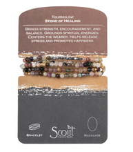 Load image into Gallery viewer, Scout Wrap Stone Bracelets Tourmaline