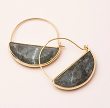 Load image into Gallery viewer, Scout Prism Earrings Labradorite