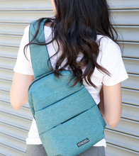 Load image into Gallery viewer, One Shoulder Sling Pack Teal