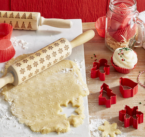 Tree Embossed Rolling Pin