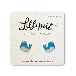 Lilliput Earring Collection Narwhal