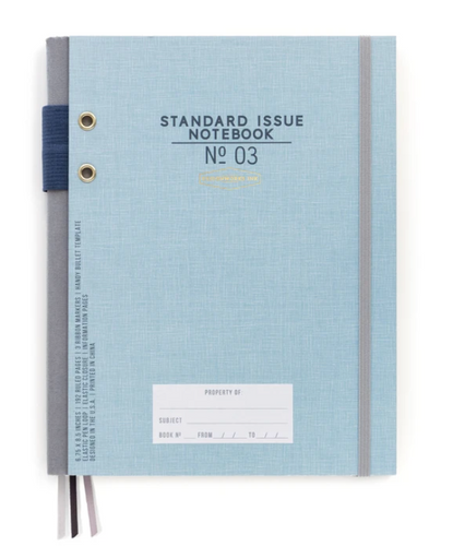Blue Standard Issue Hardcover Journal