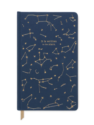 Navy Constellations Cloth Planner