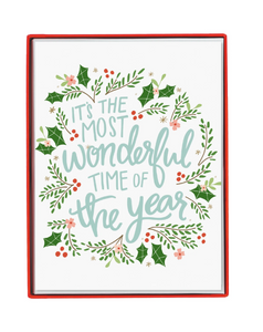 Wonderful Time Of Year - Boxed Cards