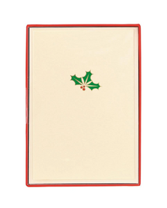 Small Holly Boxed Cards