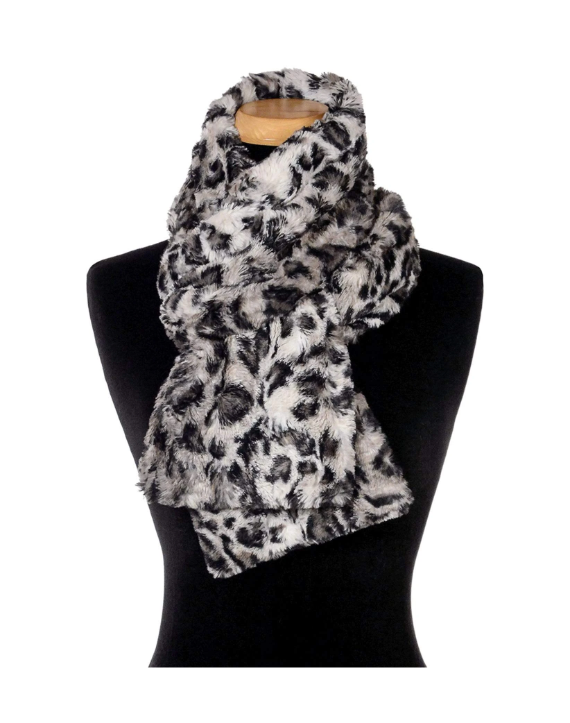 Savannah Cat Faux Fur Scarf