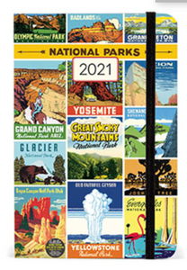 National Parks 2021 Weekly Planner
