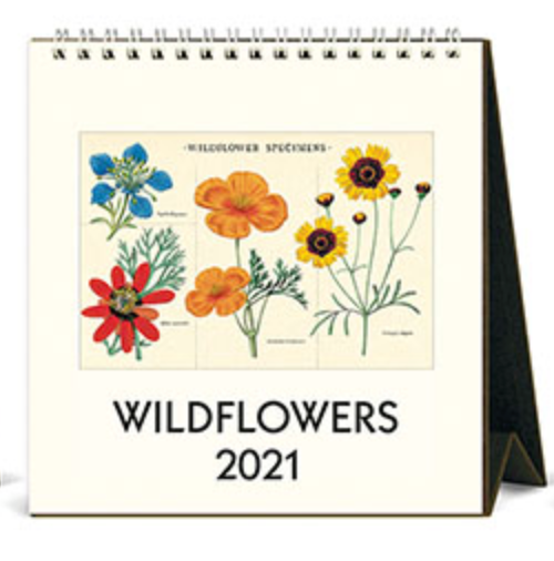 Wildflowers Desk Calendar