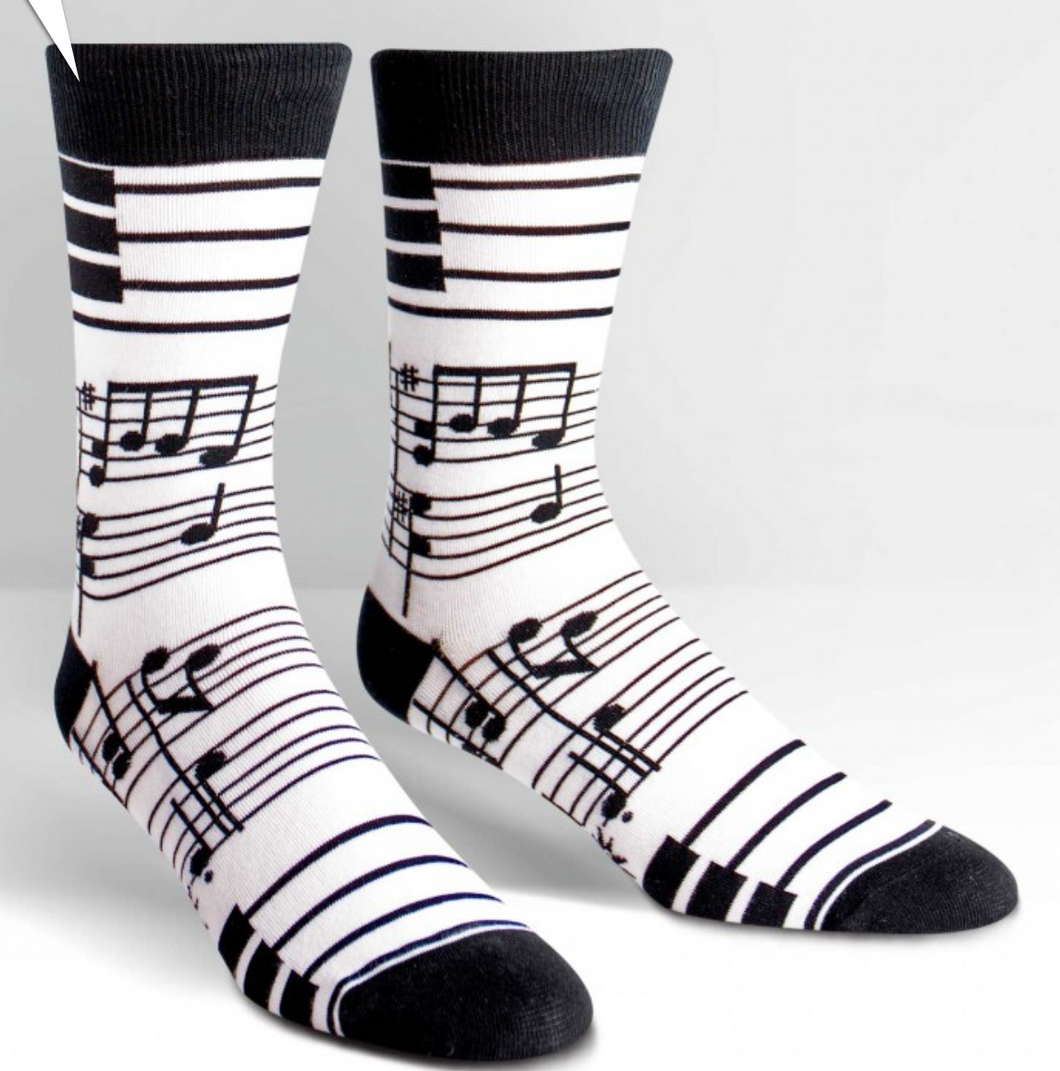Footnotes Mens Crew Socks