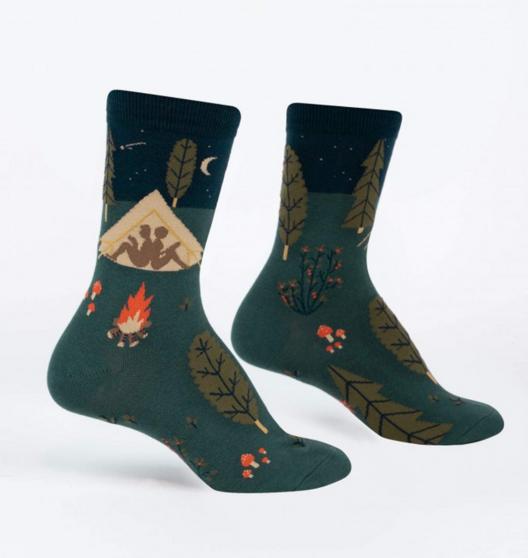 Off the Grid Womens Crew Socks