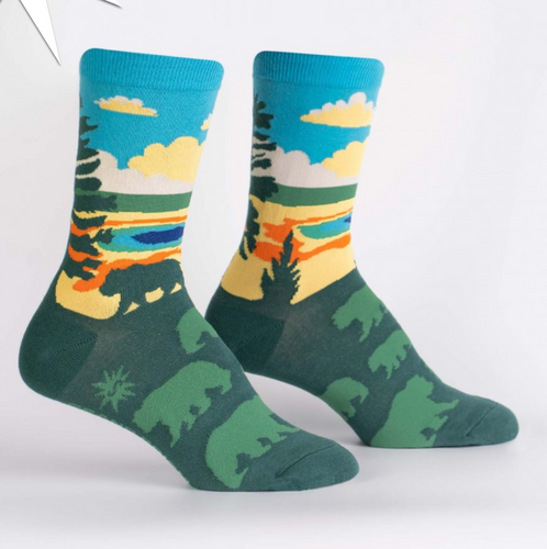 Grand Prismatic Womens Crew Sock