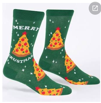 Merry Crustmas Men's Crew Socks