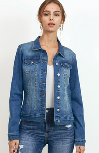 Classic Denim Jacket - Medium Blue