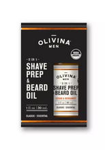Load image into Gallery viewer, 2 in 1 Shave Prep Beard Oil 2OZ Bergamot