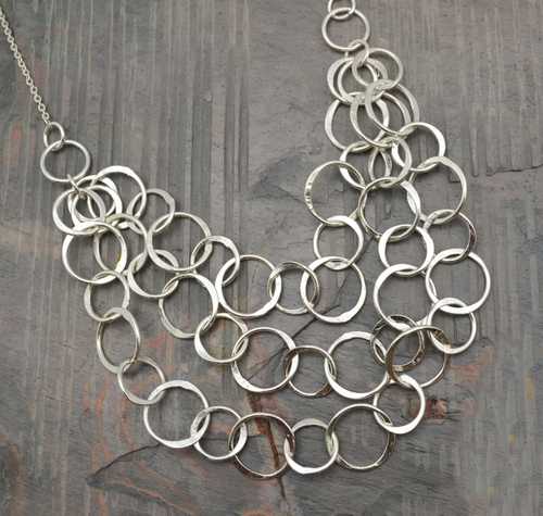 Three Layer Circle Necklace
