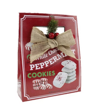 Load image into Gallery viewer, White Chocolate Peppermint Squares