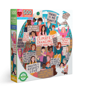 Eeboo 500 Piece Puzzle Climate Action