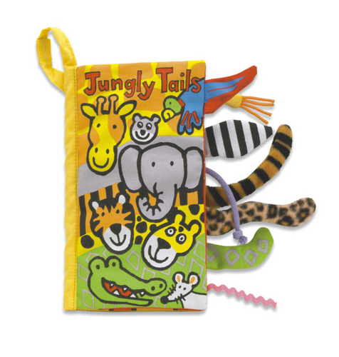 Jungle Tails Cloth Book