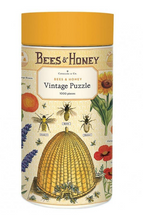 Load image into Gallery viewer, Cavallini 1000 Piece Puzzles Bees & Hone