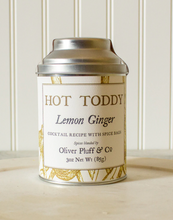 Load image into Gallery viewer, Lemon Ginger Hot Toddy 3oz Kit