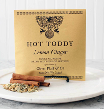 Load image into Gallery viewer, Lemon Ginger Hot Toddy 1.5oz Pouch