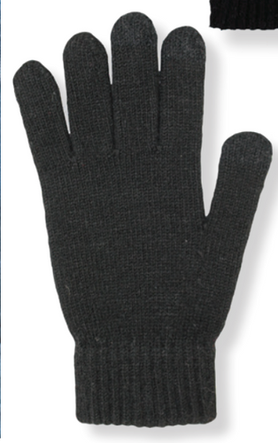 Men's Knit Texting Glove