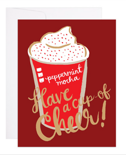 Peppermint Mocha Cup of Cheer Card