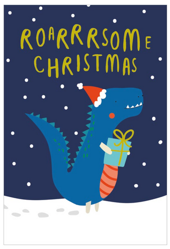 Roarrrsome Christmas Boxed Holiday Cards