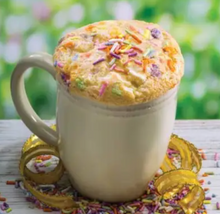 Load image into Gallery viewer, Celebration Funfetti Microwave Cake