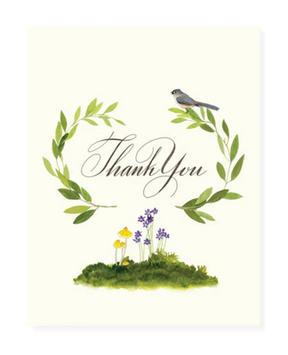 Sylvan Thank You Card