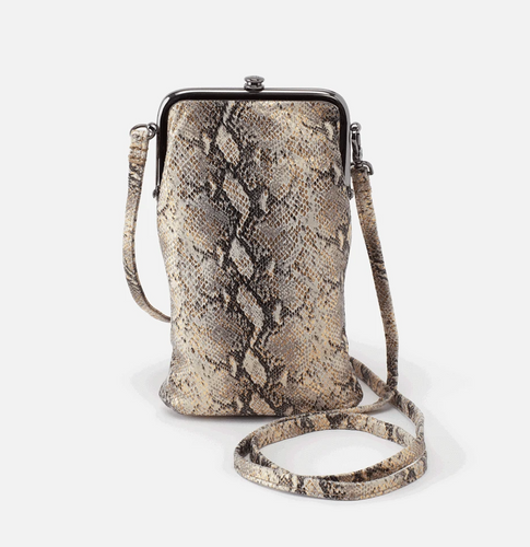 Glam Snake Leather Melody Crossbody