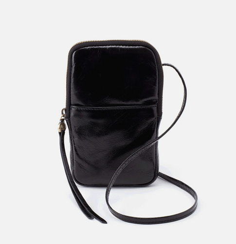 Black Leather Fate Crossbody