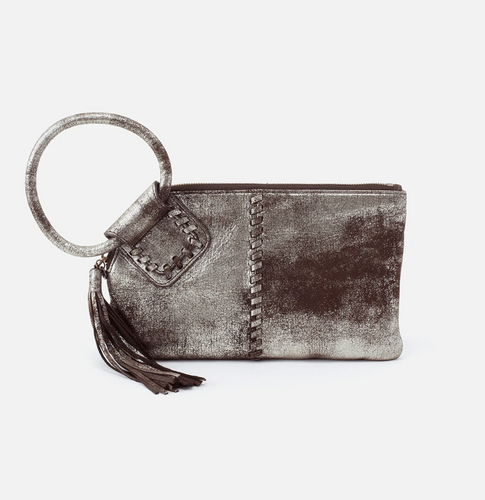 Heavy Metal Sable Leather Clutch