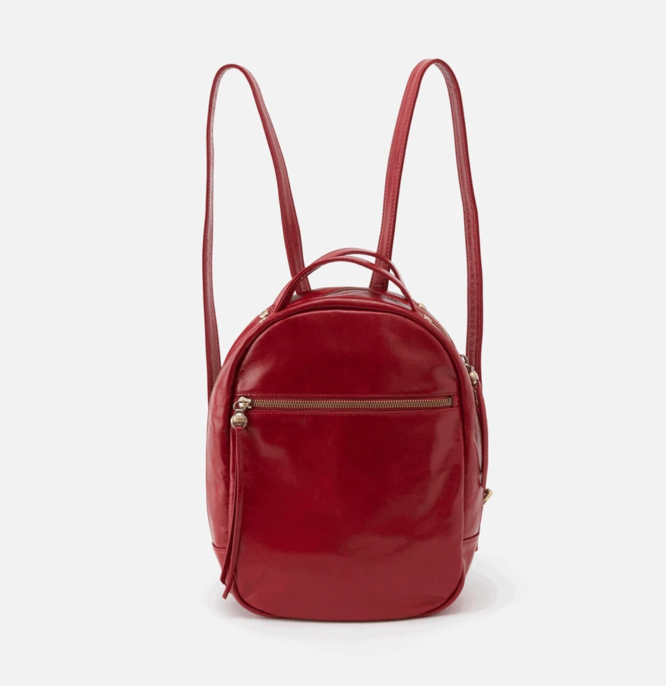 Garnet Hogan Leather Backpack