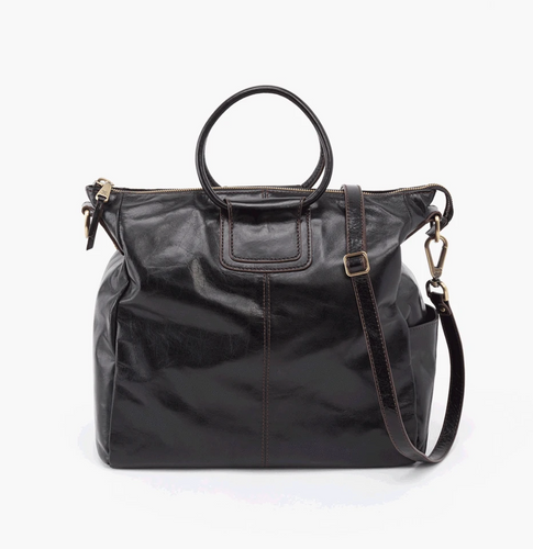 Sheila Black Leather Bag