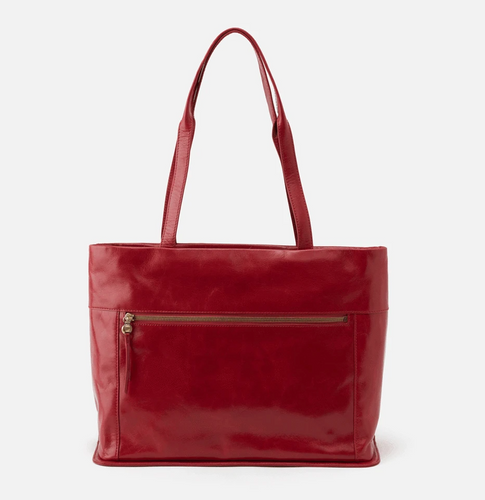 Garnet Fresco Leather Tote