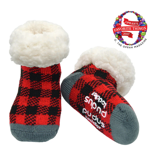 Lumberjack Toddler Slipper Socks