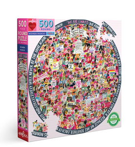 Eeboo 500 Piece Puzzle Women March