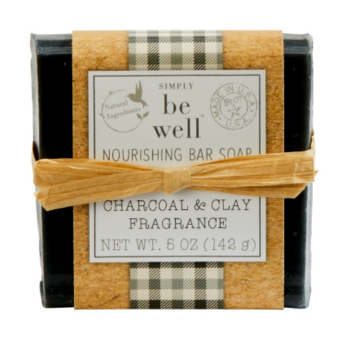 Charcoal Clay 5oz Bar Soap