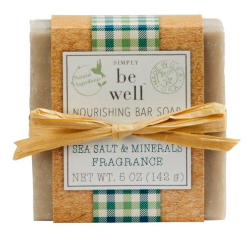 Sea Salt Minerals 5oz Bar Soap