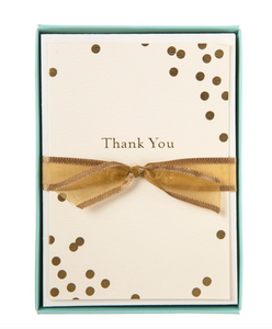 Thank You Confetti Boxed Cards