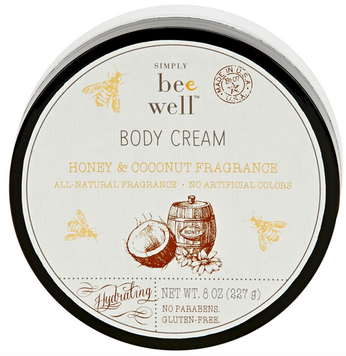 Honey Coconut Body Cream 8oz