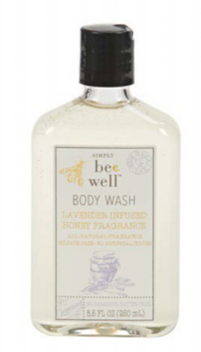 Lavender Infused Honey 8 oz Body Wash
