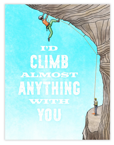 Climb Anything With You Card