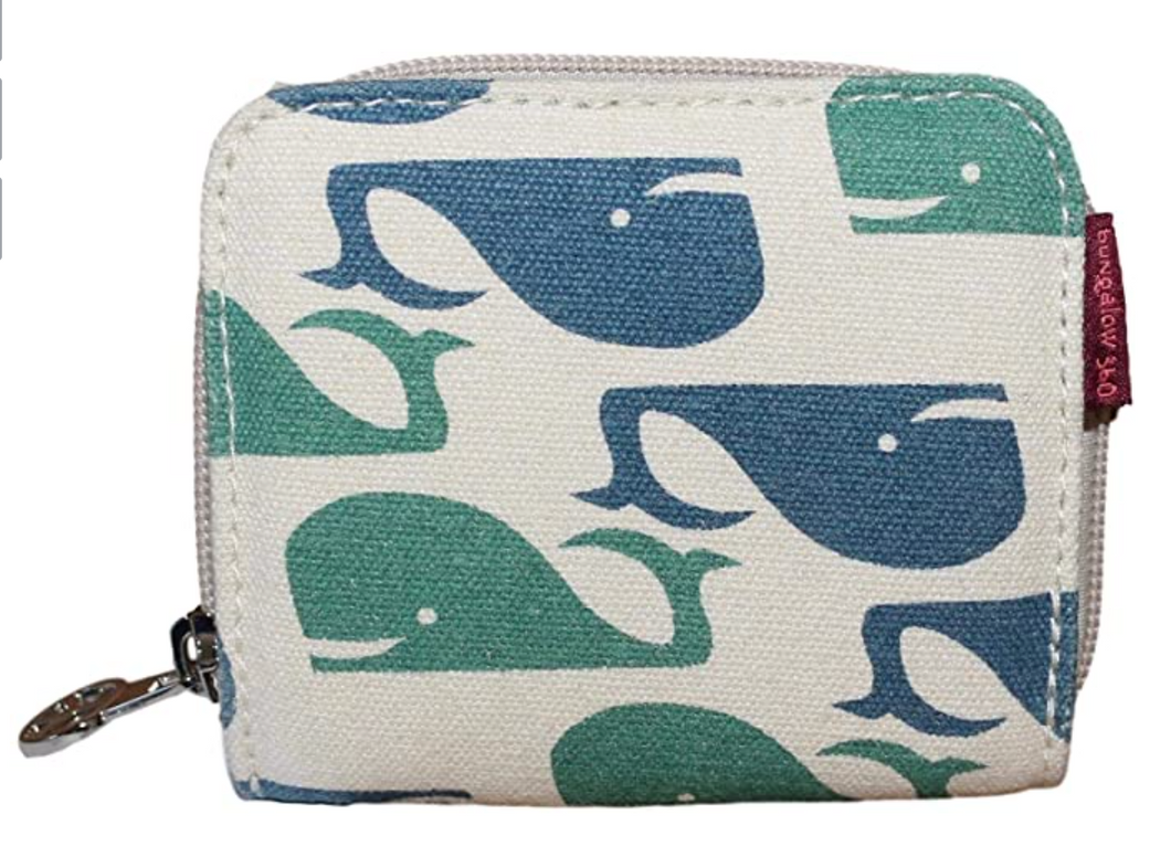Whale Billfold Small Wallet