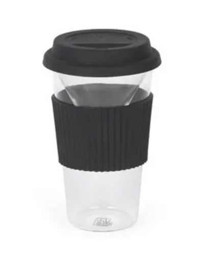 Brew To Go Glass Travel Mug