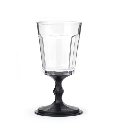 Portable Wine Glasses Black